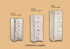 unfinished chest of drawers unfinished furniture expo mckenzie