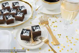 wedding favors personalized personalized wedding favors mini brownies