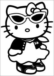 kitty coloring pages coloring pages