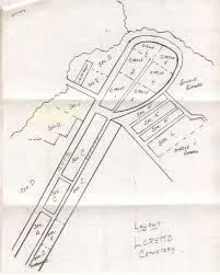 Arlington Cemetery Map Loretta St Peter Cemetery Devlin St St Clair Twp Arlington