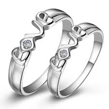 rings love images Boutique new hot sale s925 silver quot love quot couple rings couple rings jpg