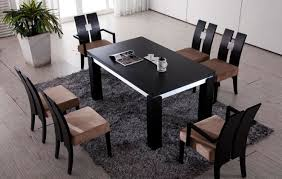 dining room gripping contemporary granite dining room table