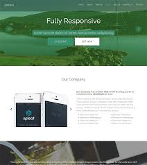 green free one page html bootstrap template bootstraptaste