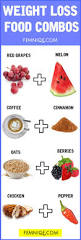 10 food combinations for weight loss fat burning combos femniqe