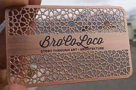 laser cut business cards metal business card exles for your inspiration