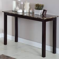 palazzo faux marble console table hayneedle