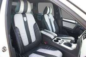 custom volkswagen tiguan touareg ii custom interior seats vw tuning mag