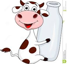 cow with milk bottle royalty free stock photography image 28724537