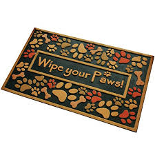Wipe Your Paws Dog Doormat Amagabeli Outdoor Entryway Welcome Mats For Front Door Mat Wipe