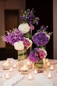 another view of center pieces best 25 purple centerpiece ideas on floral