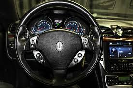 maserati steering wheel 2008 used maserati granturismo 2dr coupe at auto outlet serving
