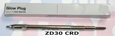 oem genuine glow plug to fit nissan gu patrol with zd30ti crd