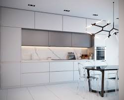 kitchen backsplash glamorous white origami lighting marble