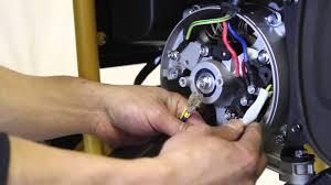 how to change your generator u0027s voltage regulator avr youtube