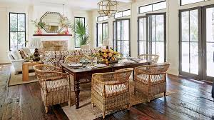 Dining Room With Living Room by Our Dream Beach House Step Inside The 2017 Southern Living Idea