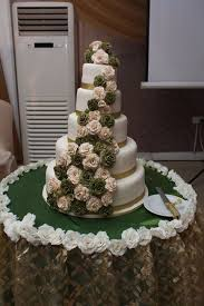5 Tier Wedding Cake My Cakes Pinterest