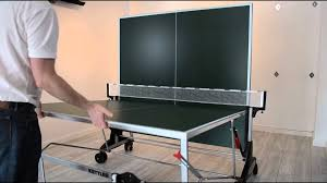 redline ping pong table reviews how to fold a kettler stockholm outdoor table tennis table youtube