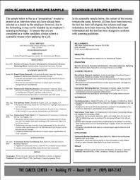 scannable resume template best of scannable resume template yaroslavgloushakov
