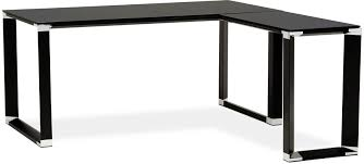 bureau design noir bureau design noir collection executive par design mobilier