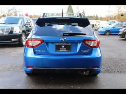 subaru wrx hatchback spoiler 2009 subaru impreza wrx hatchback loaded low miles