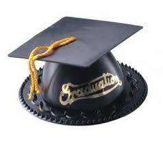 graduation cap cake topper black kitchen dining