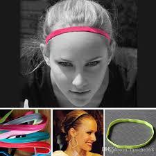 soccer headbands wholesale the non slip men and women elastic rope sports headband