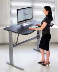 Adjustable Height Office Desk by How I Made My Adjustable Height Standing Desk