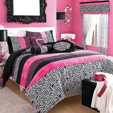 Girls Zebra Bedding by Wholehome Teens Tm Mc U0027natasha U0027 Comforter Set Sears Sears