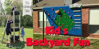 Kid Backyard Ideas 85 Kid U0027s Backyard Plans Swings Climbing Walls Forts And More