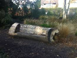 garden seat tree outside log bench diy work or fun for bill