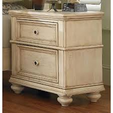 heritage antique white nightstand rc willey furniture store
