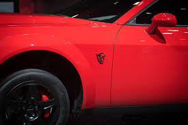 logo dodge the 2018 dodge challenger srt demon is a ridiculous muscle car