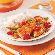 cuisine portugaise escalopes de poulet à la portugaise recettes cuisine et