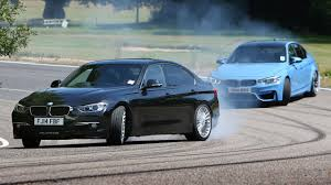 Bmw M3 Series - petrol bmw m3 vs diesel alpina d3 fast saloon showdown youtube