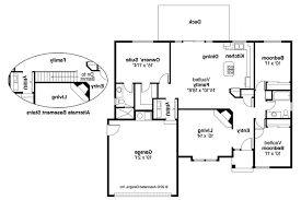 Traditional Floor Plan Traditional House Plans Phoenix 10 061 Associated Designs