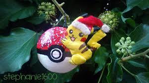 for sale pikachu tree ornament by stephanie1600 on
