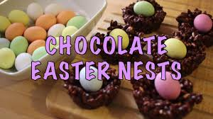 Easter Chocolate Chocolate Easter Nests Easy Easter Treat Recipe Youtube