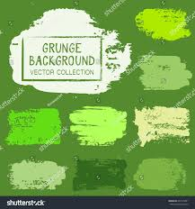 Green Color Palette by Green Shades Color Palette Hand Painted Stock Vector 646725481