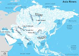 physical map of asia blank asia rivers map rivers map of the asia rivers of asia