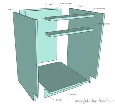 how to build kitchen cabinets free plans how to build cabinets houseful of handmade