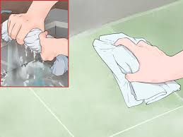 Easiest Way To Clean Linoleum Floors 5 Ways To Get Hair Dye Stain Out Of Linoleum Wikihow
