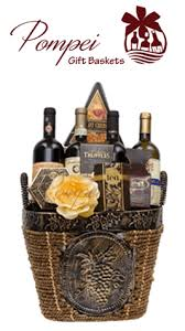 wine gift basket ideas fantastic four wine gift basket by pompei baskets