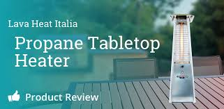 Table Top Patio Heaters Propane Lava Heat Italia Tabletop Heater Review For Outdoor Patio