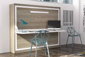 lit escamotable bureau intégré armoire lit escamotable horizontale avec bureau intégré couchage 1