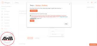 blogger atau blogspot 2 cara mengupload tema blogger atau blogspot hasil download custom