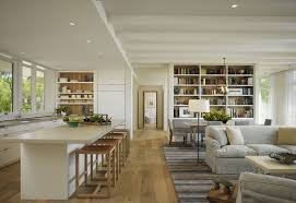 open plan kitchen dining living room modern endearing good spaces
