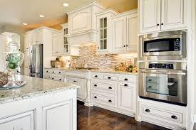 granite countertop white pantry cabinets for backsplash for