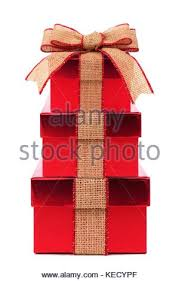 wrapped christmas boxes stacked brown christmas gift boxes wrapped with rustic burlap bow