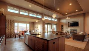 great home designs home design kitchen and living room floor plans great open plan