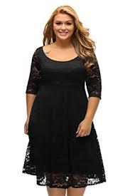 gloria u0026sarah women u0027s floral lace 3 4 sleeve flare a line plus size